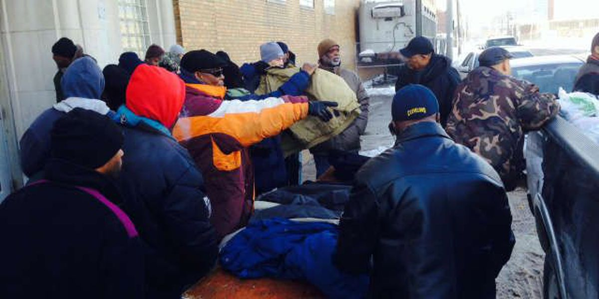 Brotherly Love: Men's ministry deliver care packages to downtown shelter
