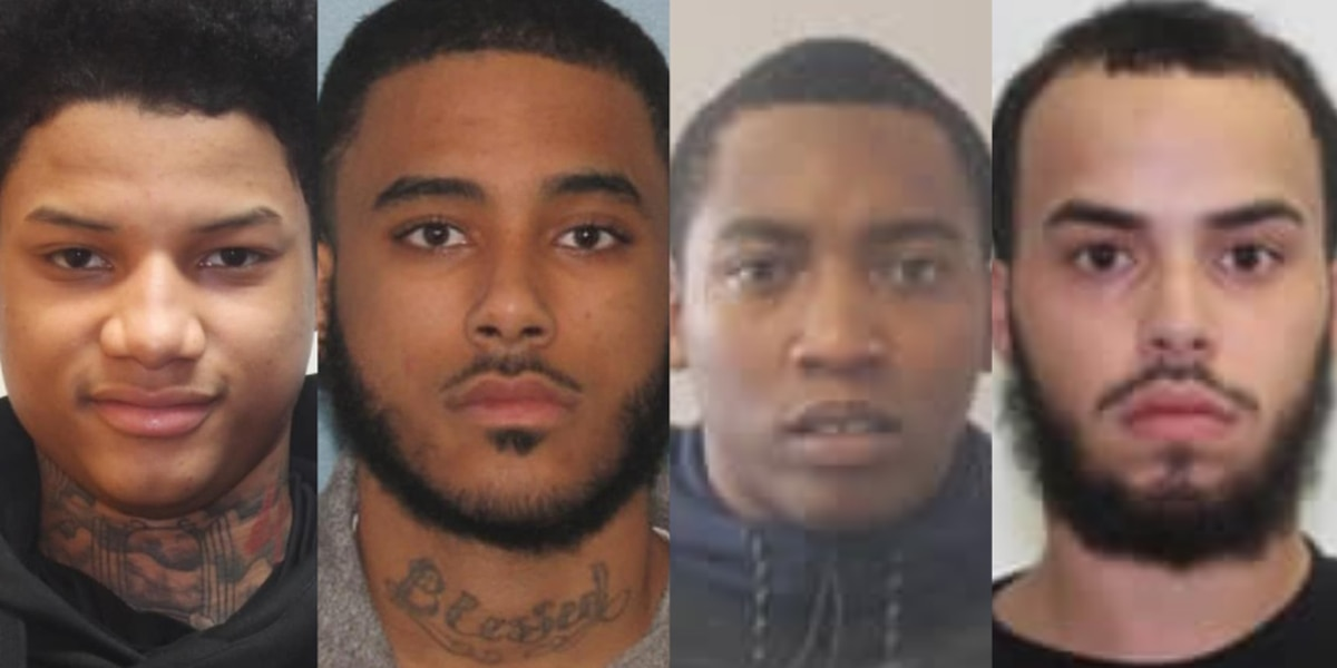 Warrants out for 4 men accused of stealing multiple cars in Bay Village in 2020
