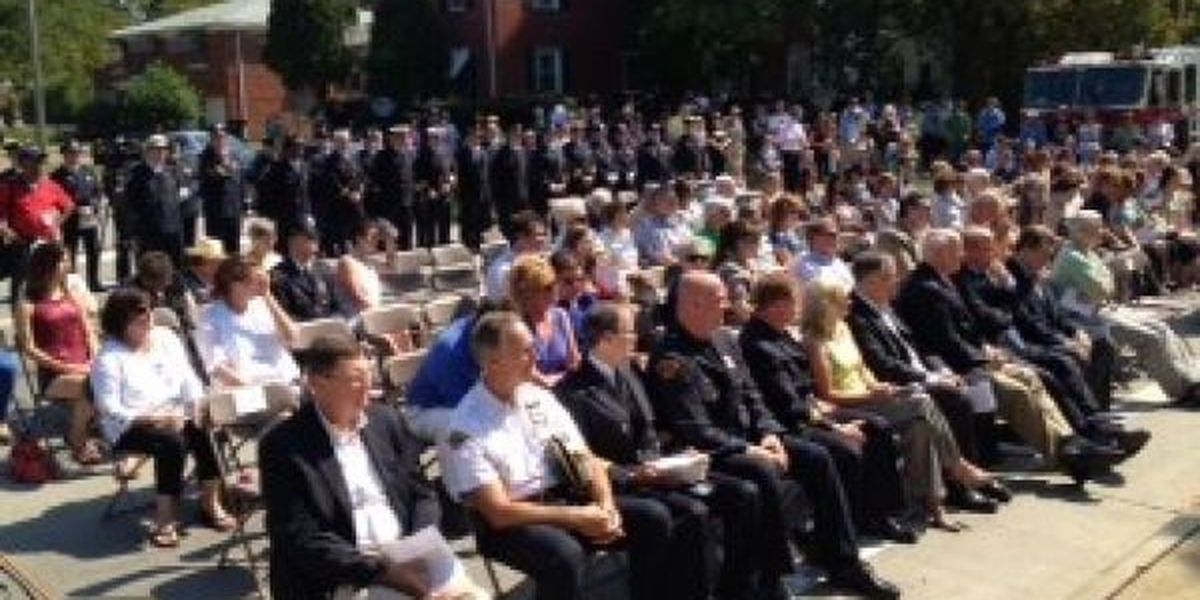10th anniversary of the West Park Cleveland Police & Firefighters Memorial Walkway