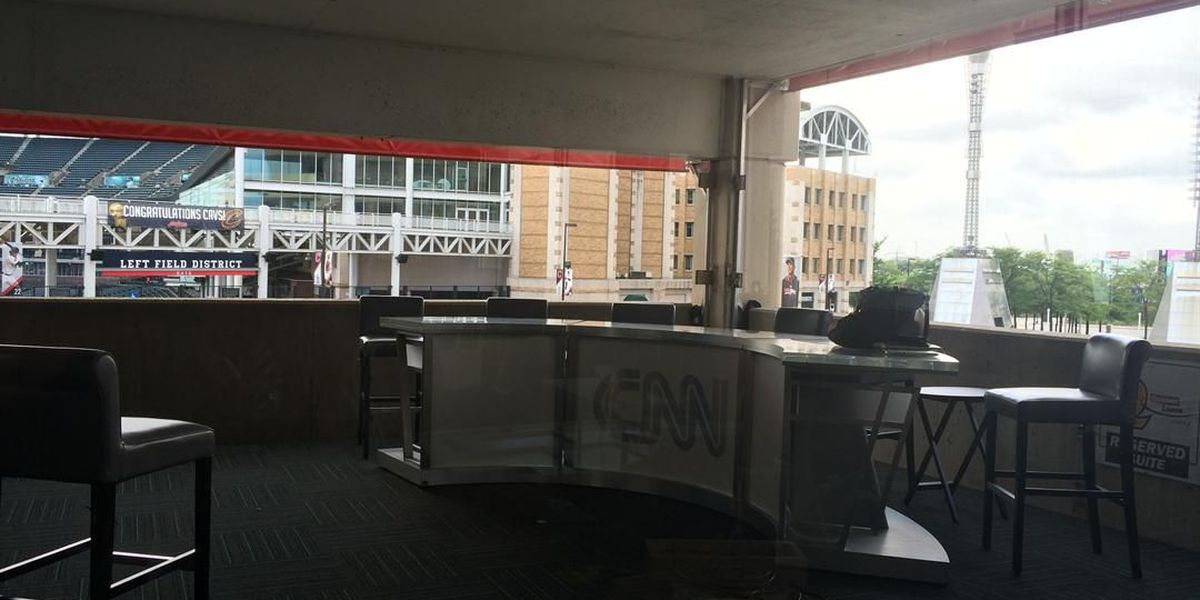 First ever Media Row being constructed for RNC