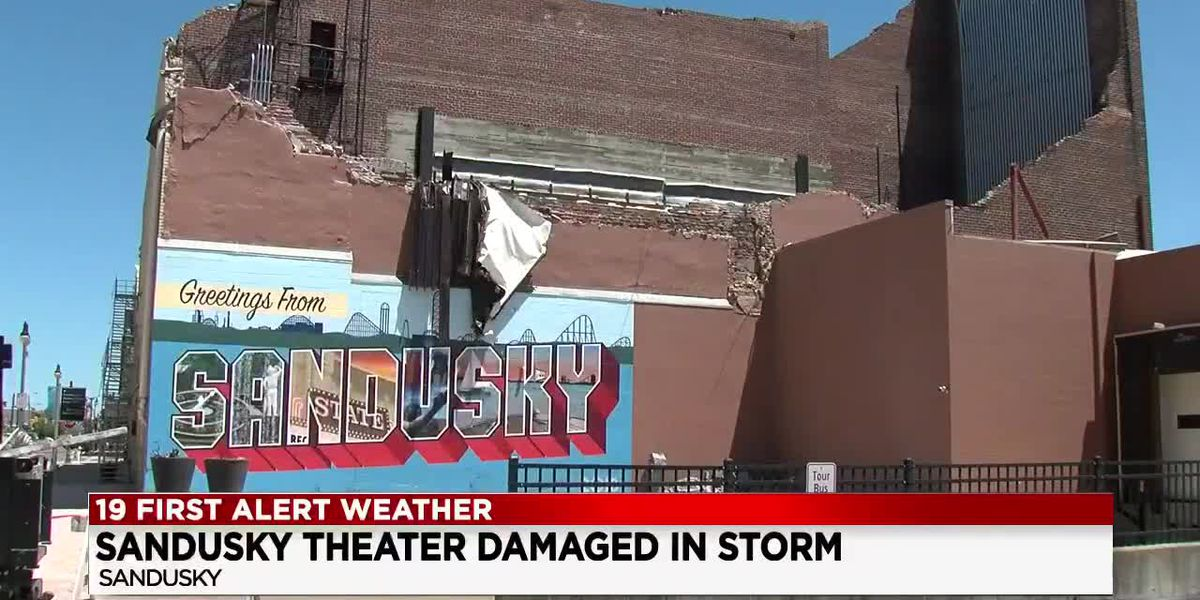 Cleanup is underway in Sandusky following wave of destructive storms