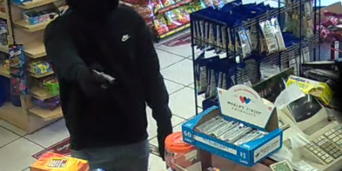 Gunman swipes cash and cigarettes during convenient store holdup in Cleveland