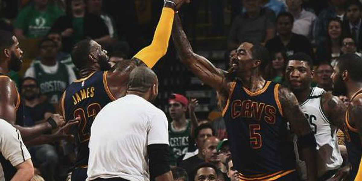 Celebrate National Handshake Day with the Cavs (video)