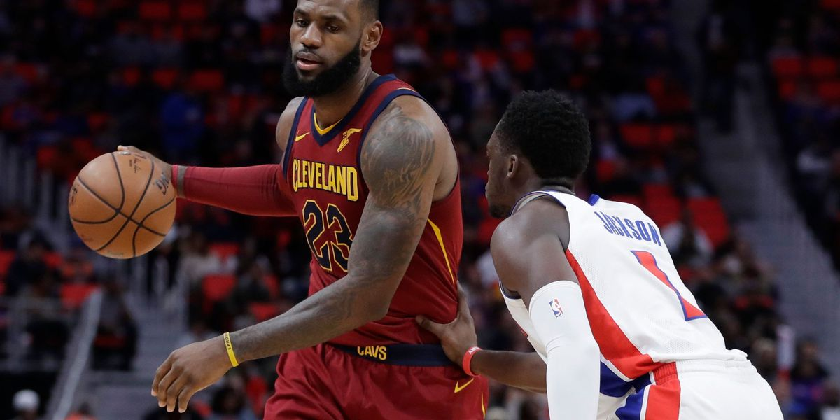 Cavaliers rout Pistons 116-88 for 5th straight win