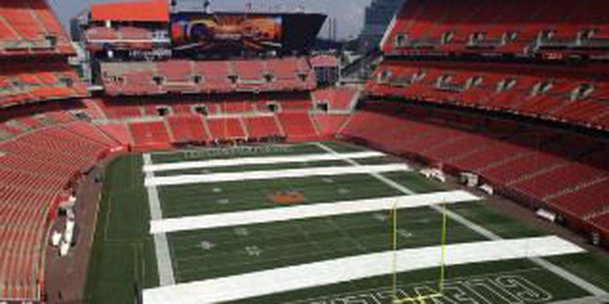 Cleveland Browns add new touches to FirstEnergy Stadium