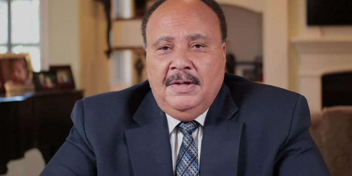 Martin Luther King III talks on King Day