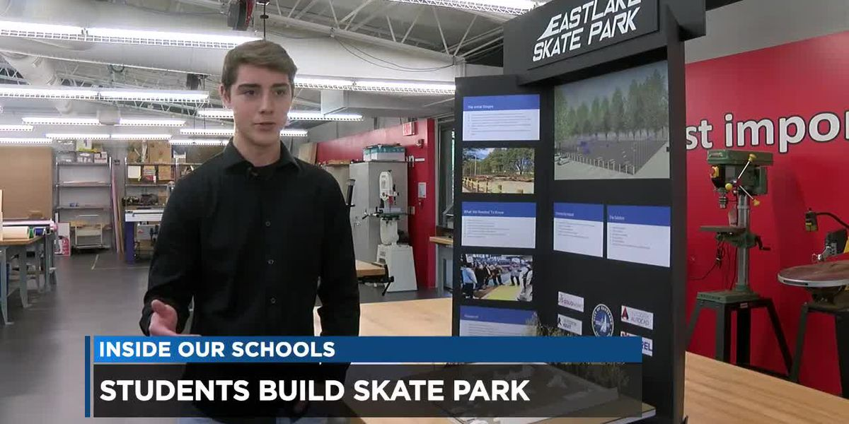 High school students bring Eastlake Skate Park to life