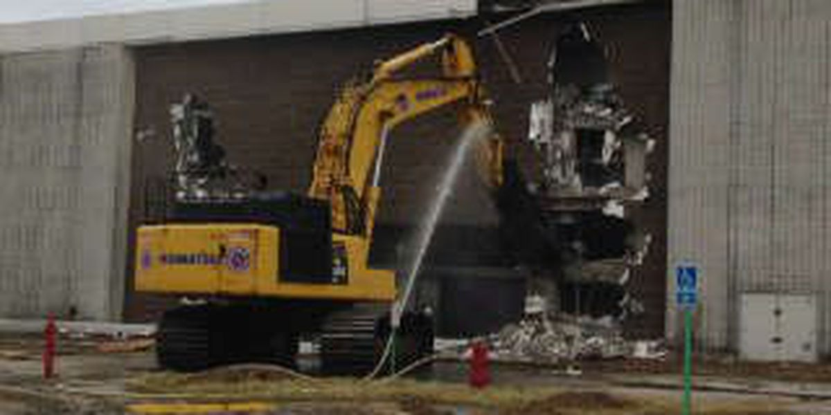 Demolition begins on Randall Park Mall to make way for industrial park