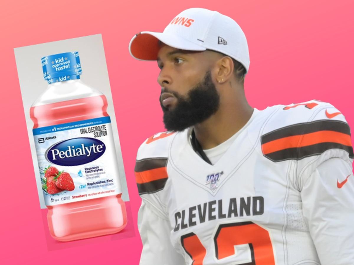 Cleveland Browns wide receiver Odell Beckham Jr. named ambassador for Pedialyte