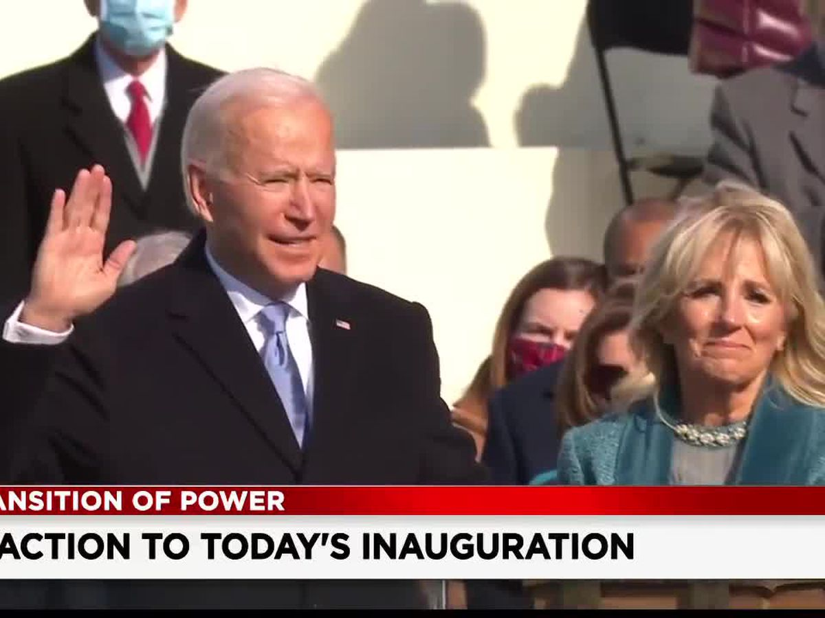 Northeast Ohioans react to inauguration of Joe Biden, Kamala Harris
