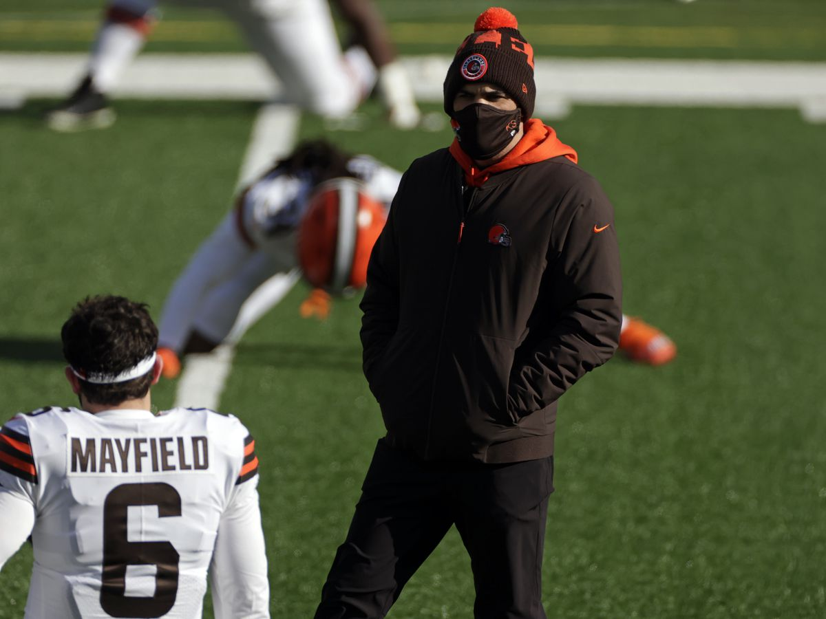 Cleveland Browns head coach Kevin Stefanski wins 2020 AP NFL Coach of the Year