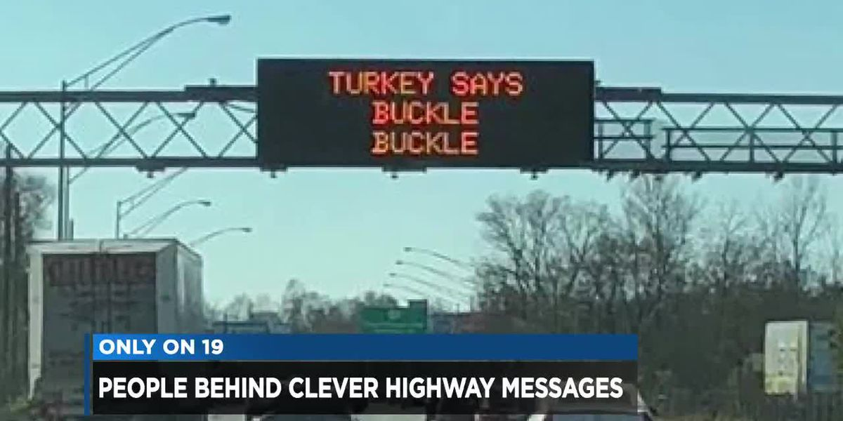 How does ODOT come up with its clever safety billboards?