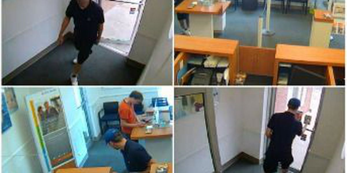 PHOTOS: Cleveland PNC Bank robber on the run