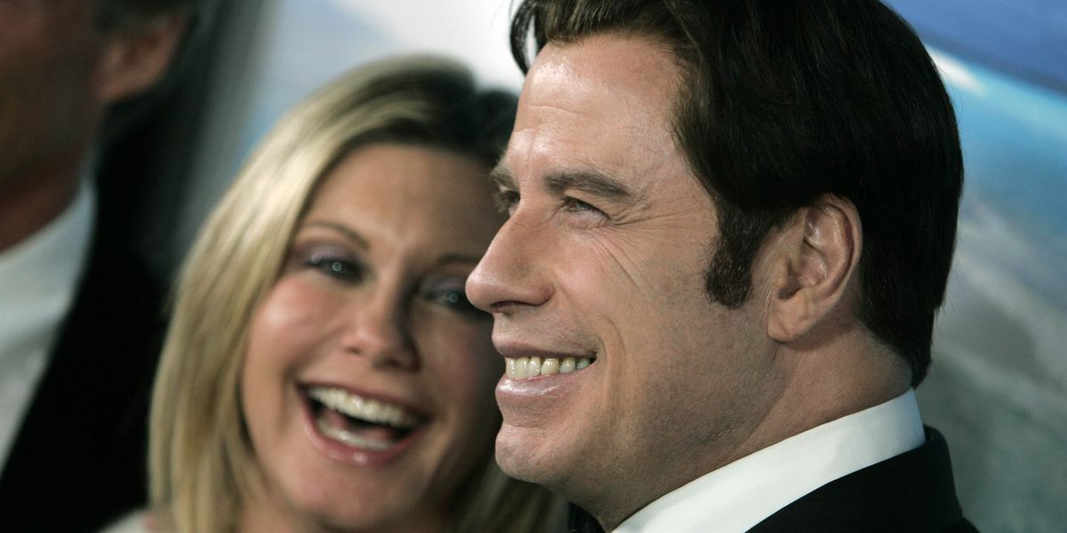 John Travolta, Oliva Newton-John are back together as Danny and Sandy