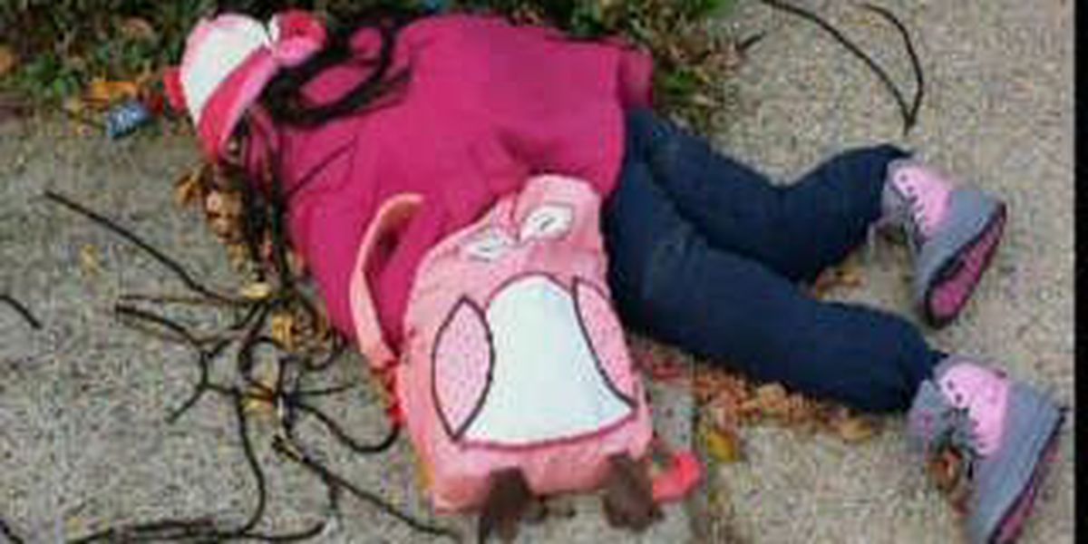 Dead kid as Halloween decoration: How do you see it?