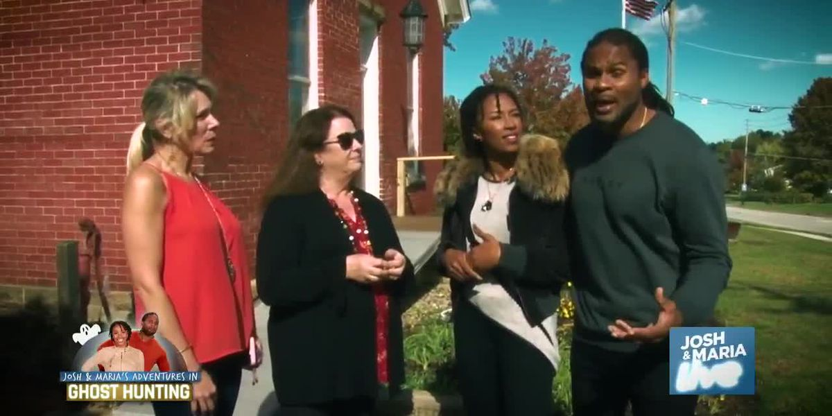 Josh Cribbs, Maria Cribbs go ghost hunting in Willoughby with the 'Haunted Housewives'