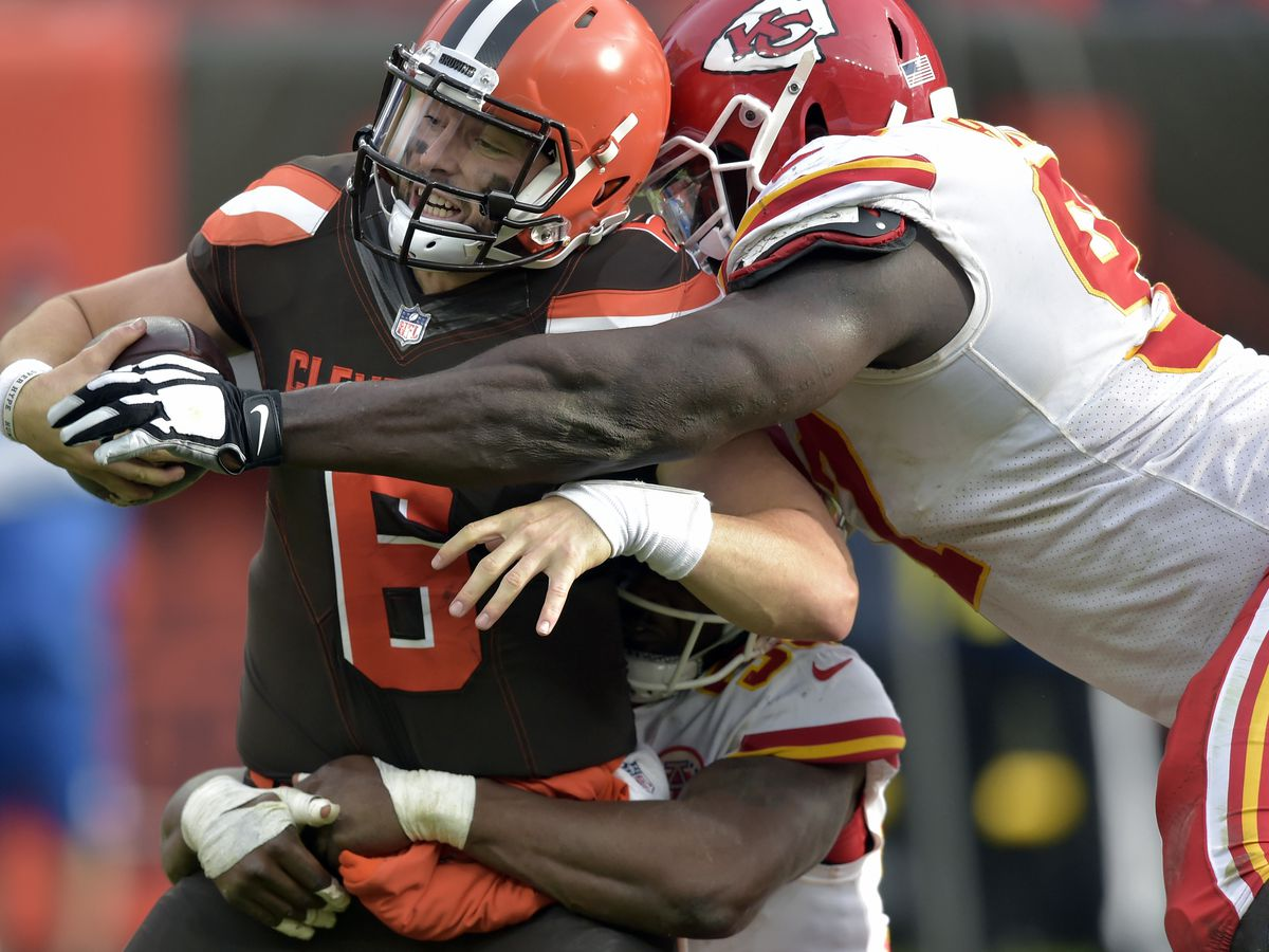Which former Browns offensive lineman, now on another team, do you miss the most?