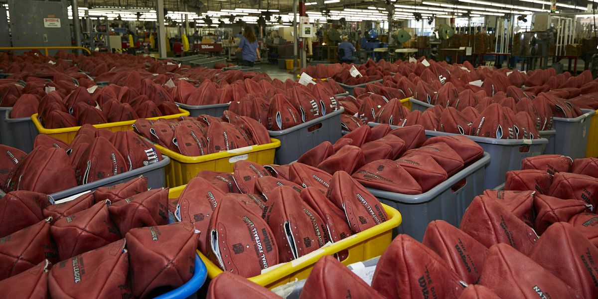Ohio facility tapped to produce official footballs for NFL Super Bowl LIII