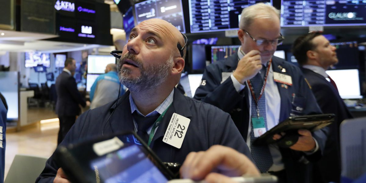 Markets Right Now: Tech rout erases stocks' gain for year