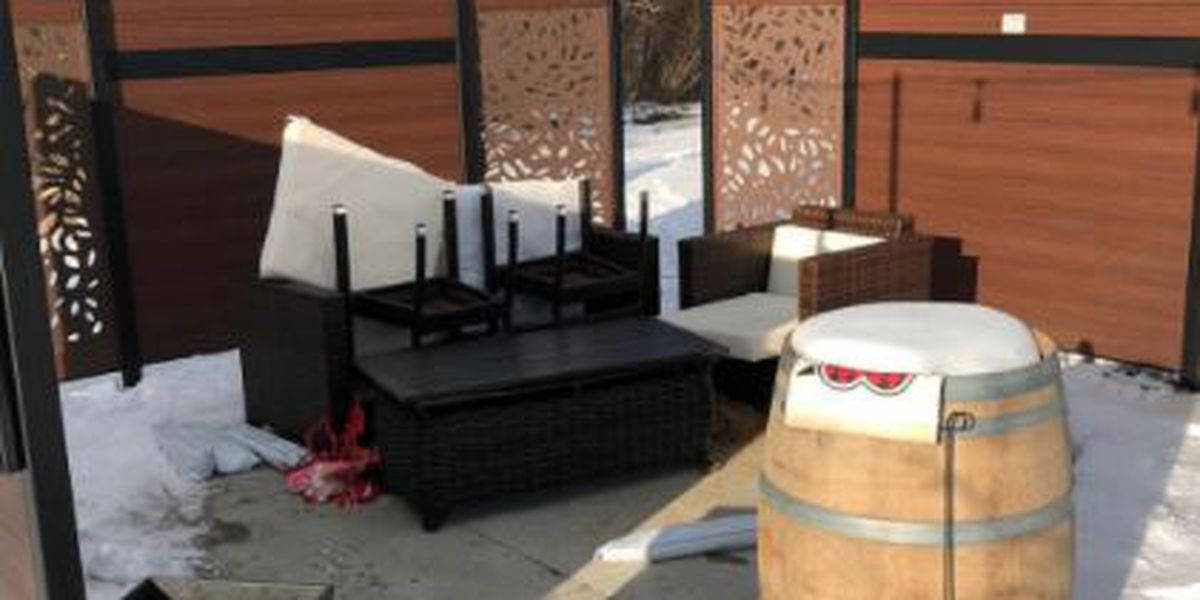 Igloo stolen from Strongsville winery, theft leaves owners 'disheartened'
