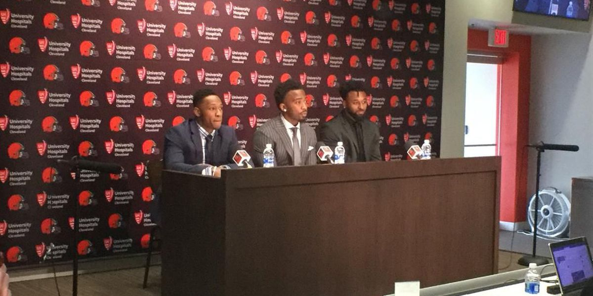 Cleveland Browns welcome newcomers with press conference (slideshow)