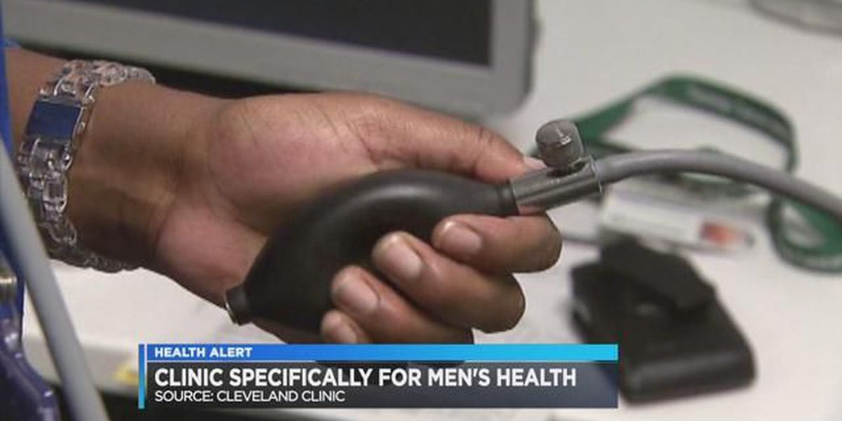 The Cleveland Clinic focusing more on men's health
