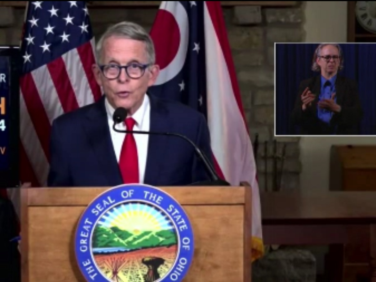 10 p.m. curfew on alcohol sales will be in place for a while, Gov. DeWine says