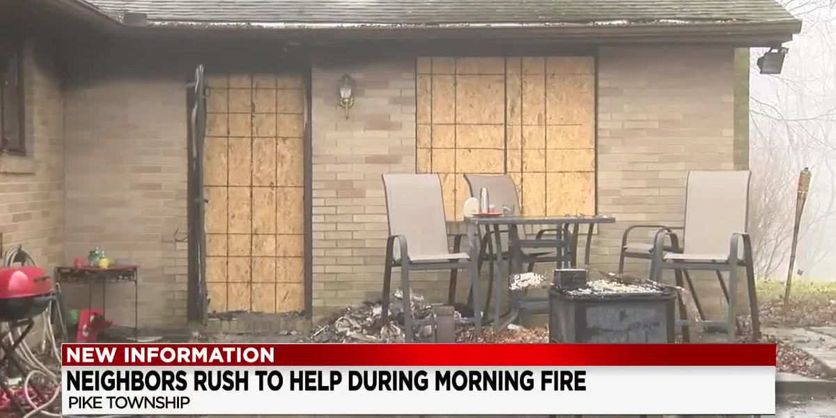 Stark County hero swoops into action, and helps save family of 4 during fire
