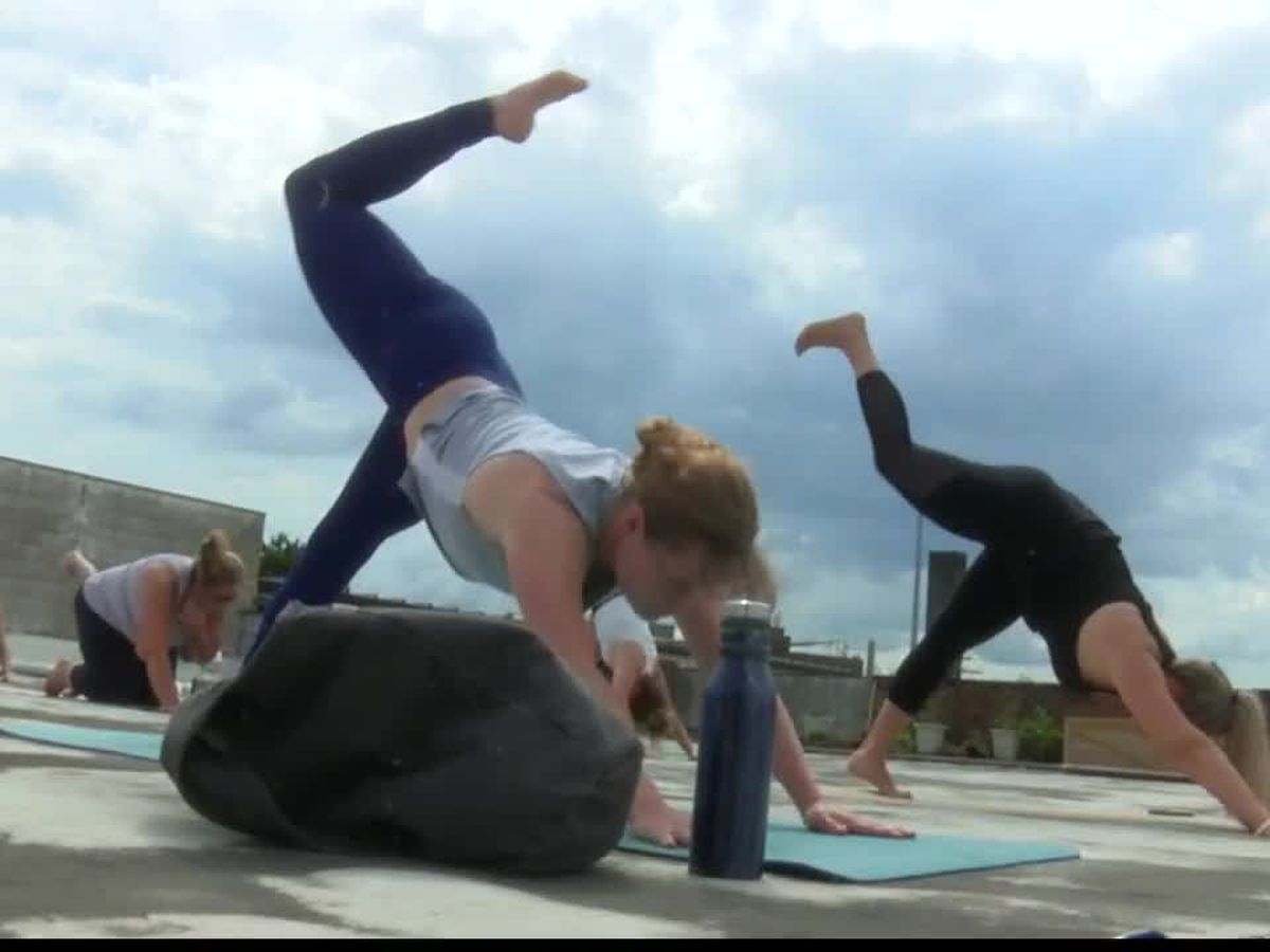 Cleveland's Rooftop Yoga soothing body and mind to counter months-long pandemic