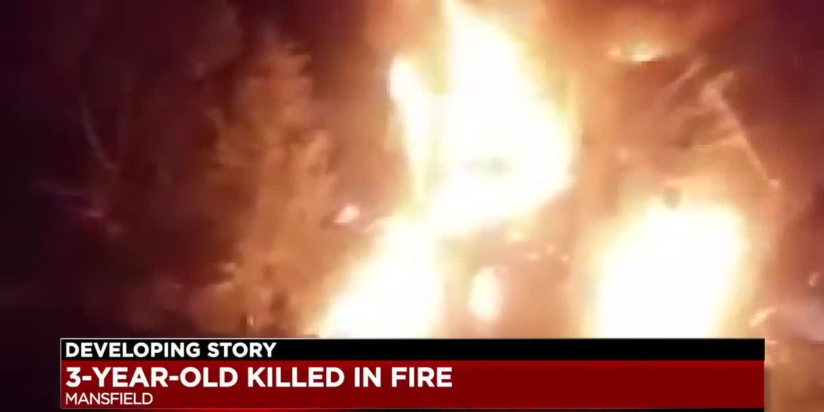 Three-year-old child killed in fire