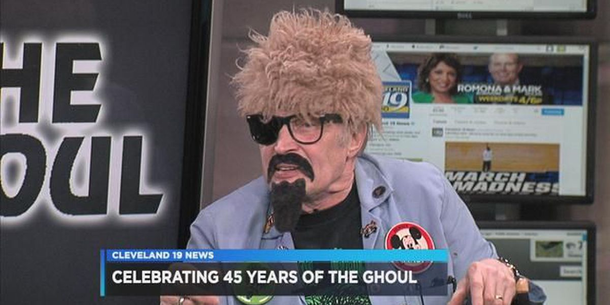 The Ghoul invades Cleveland 19 News in the Morning