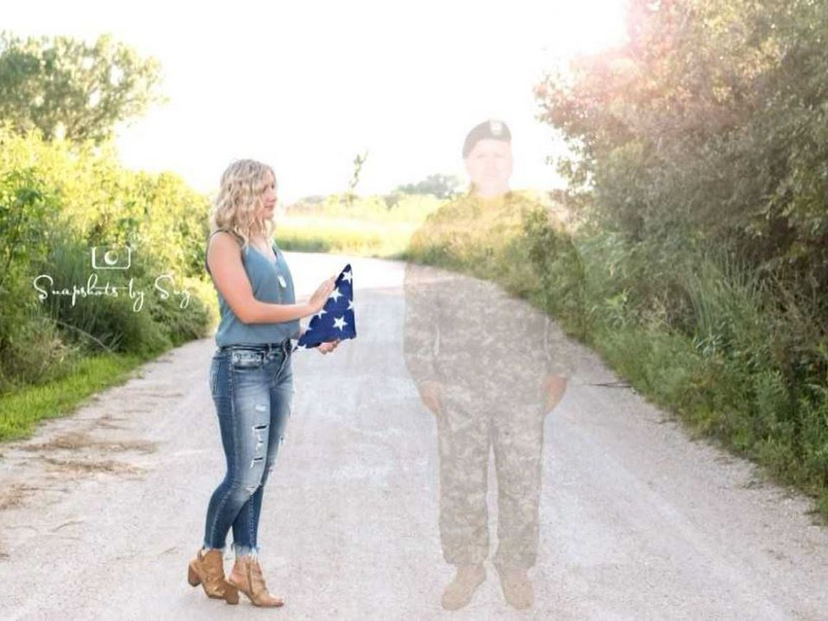 Nebraska teen uses senior photo shoot to honor father killed in Afghanistan