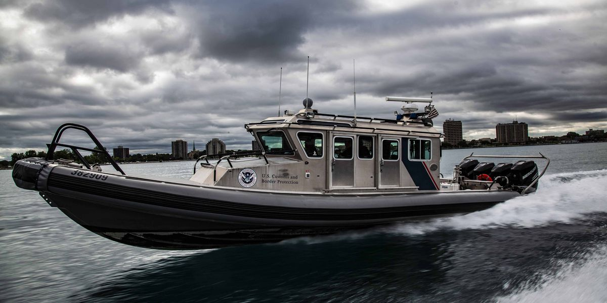 U.S. Customs and Border Protection reports increased drug seizures in the Great Lakes region