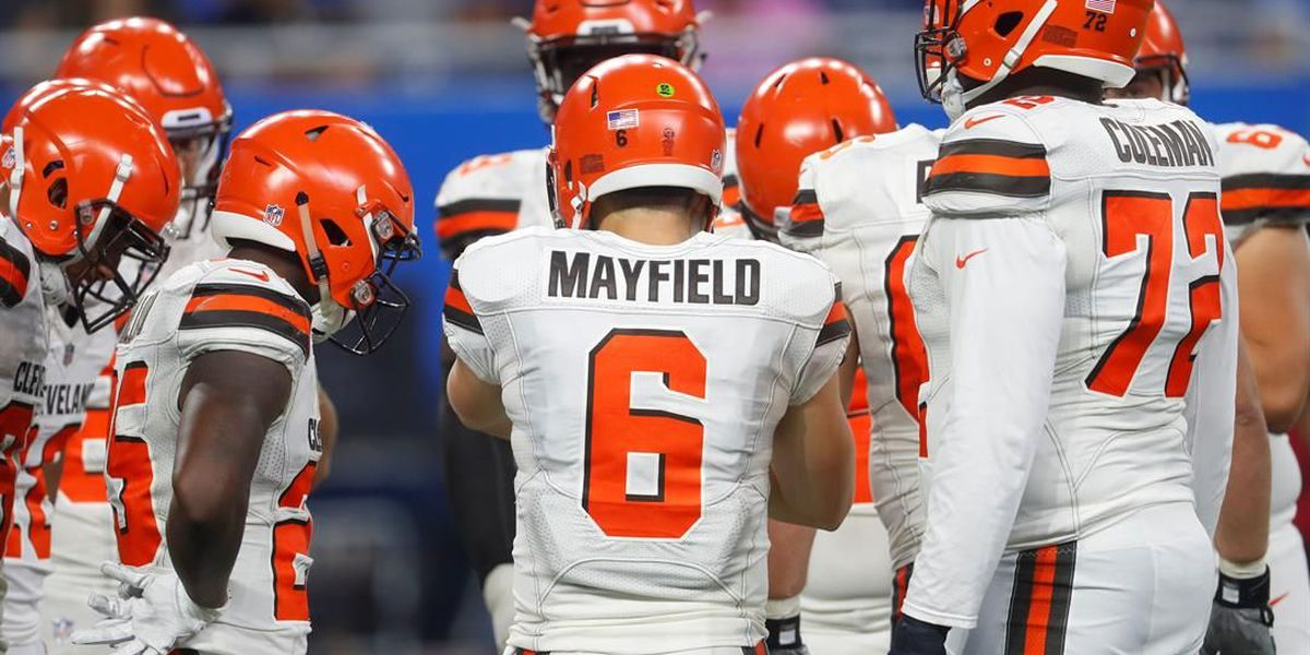 Baker Mayfield enters game as Tyrod Taylor enters concussion protocol