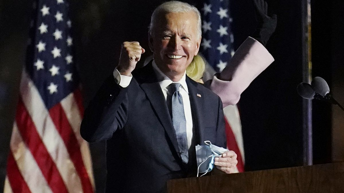 Election 2020: President-elect Biden, Vice-President-elect Harris address nation for 1st time since projected victory