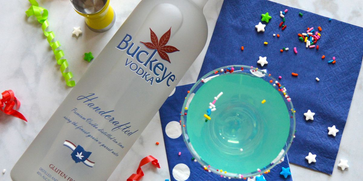 Seen on Cribbs: Buckeye Vodka's Sparkletini