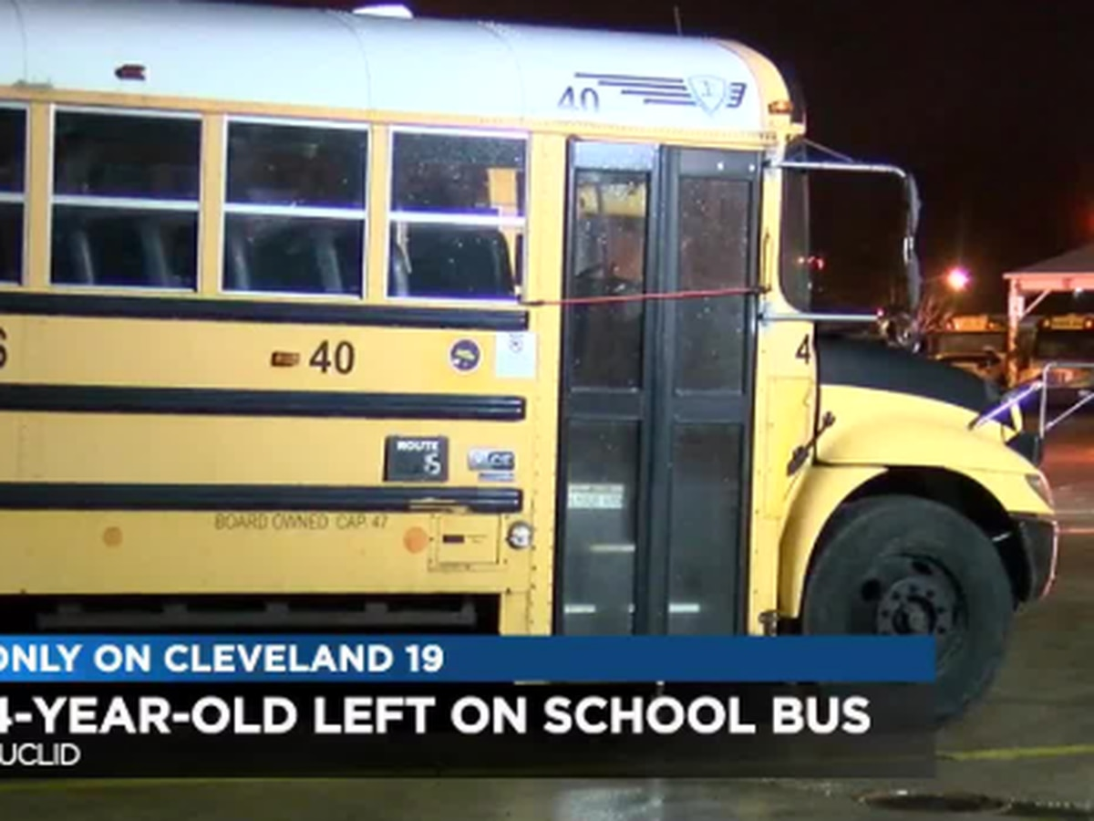 Euclid mother furious after 4-year-old son left behind on school bus for hours