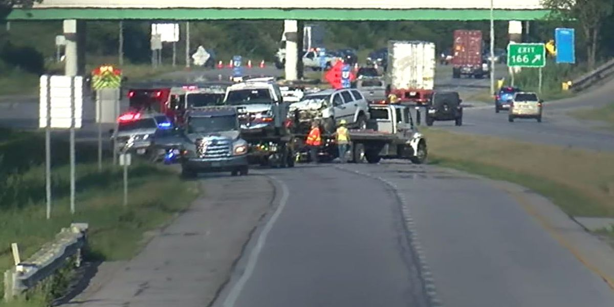Route 2 reopens in Lorain County after violent multi-car crash