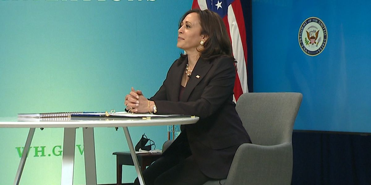 Harris takes on 'hard work' in 100 days as vice president