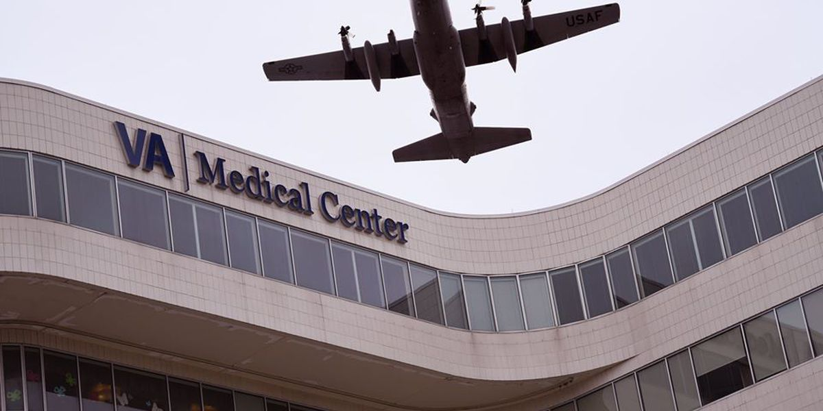 US Air Force flies over health care facilities around Northeast Ohio