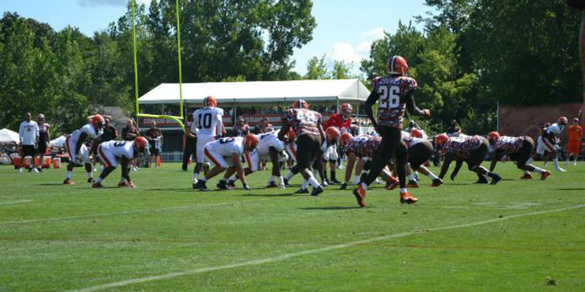 Browns take on the Redskins in first preseason game