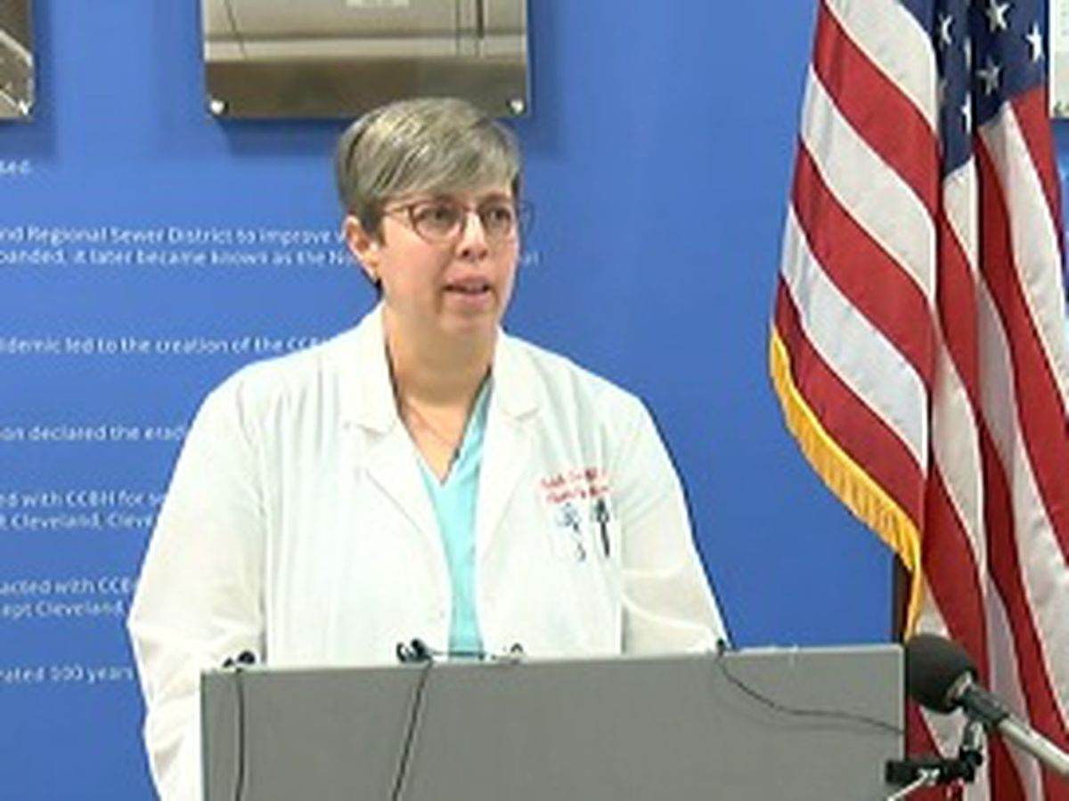 Health officials discuss latest coronavirus cases in Cuyahoga County and at jail facility