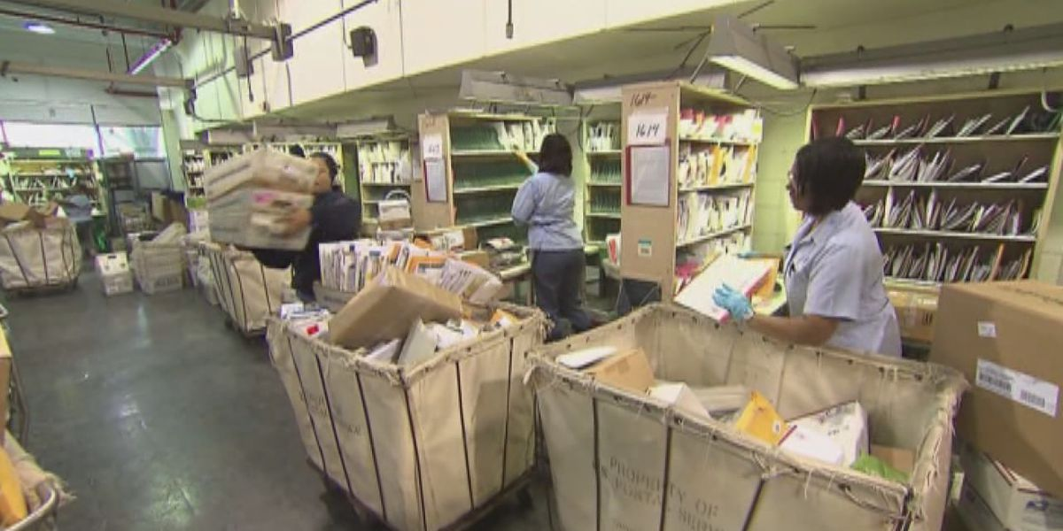 Akron mayor wants USPS processing facility to reopen