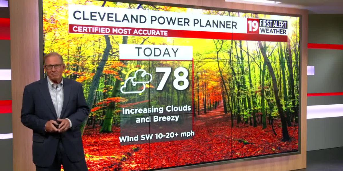 Northeast Ohio weather: Few rumbles overnight, Clouds Sunday
