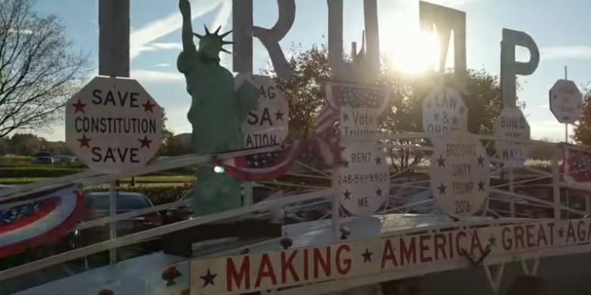 Have you seen the Presidential Trump Unity Bridge driving around Cleveland?