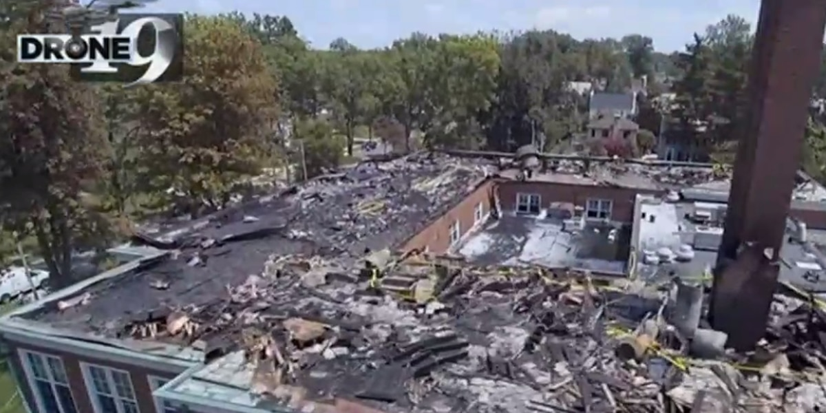 Shaker Heights fire investigators rule roofers sparked blaze that ripped through Fernway Elementary
