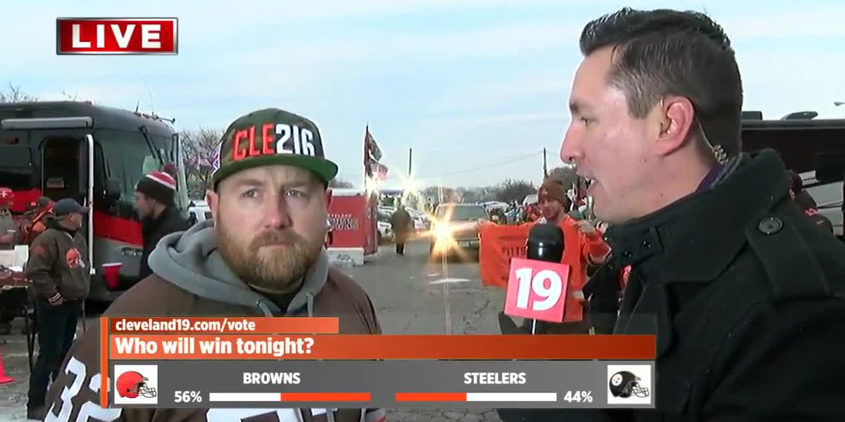 Browns season on the line against Pittsburgh Steelers