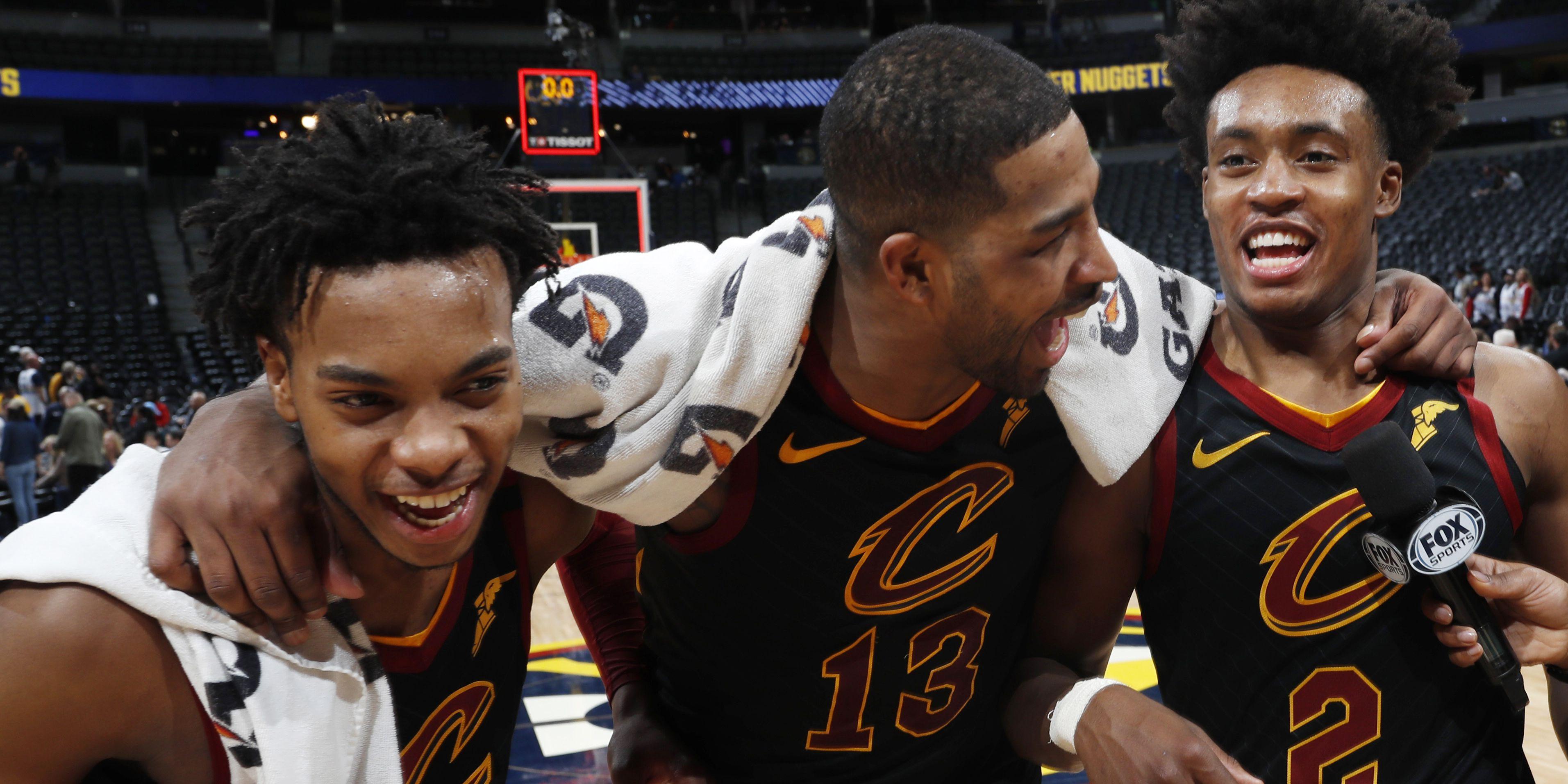 Cavaliers shock Nuggets in Denver