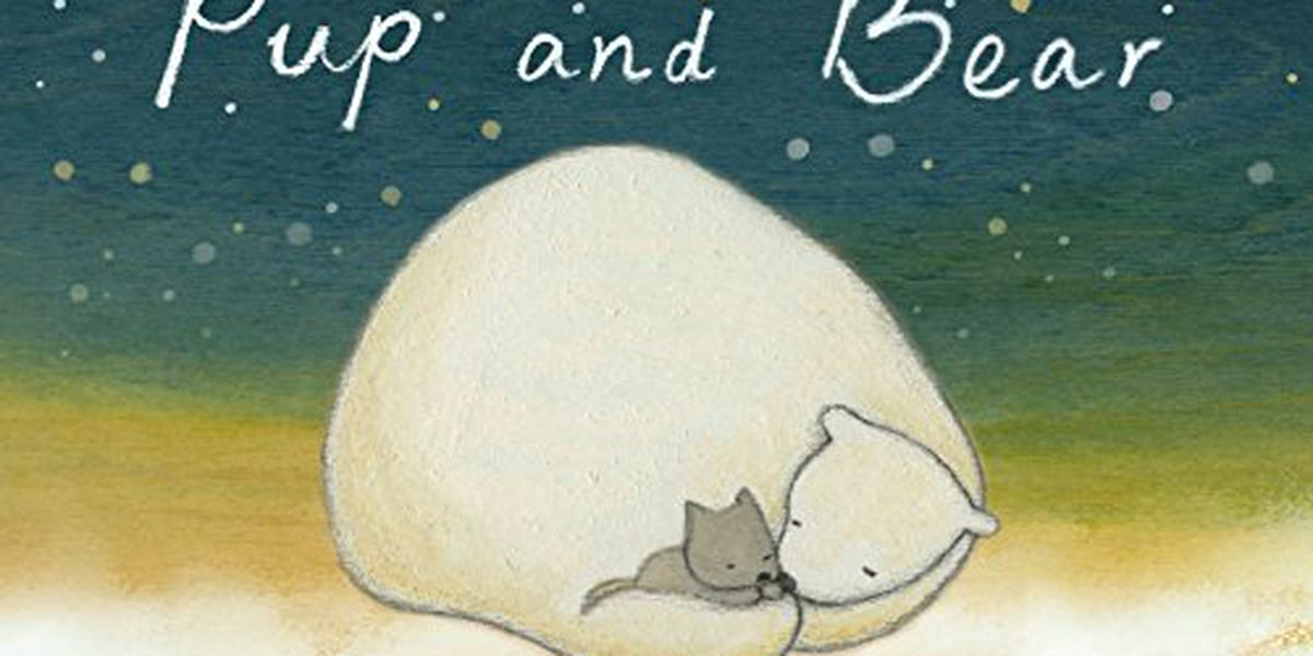 Read along to 'Pup and Bear' on Story Time with Jamie Sullivan