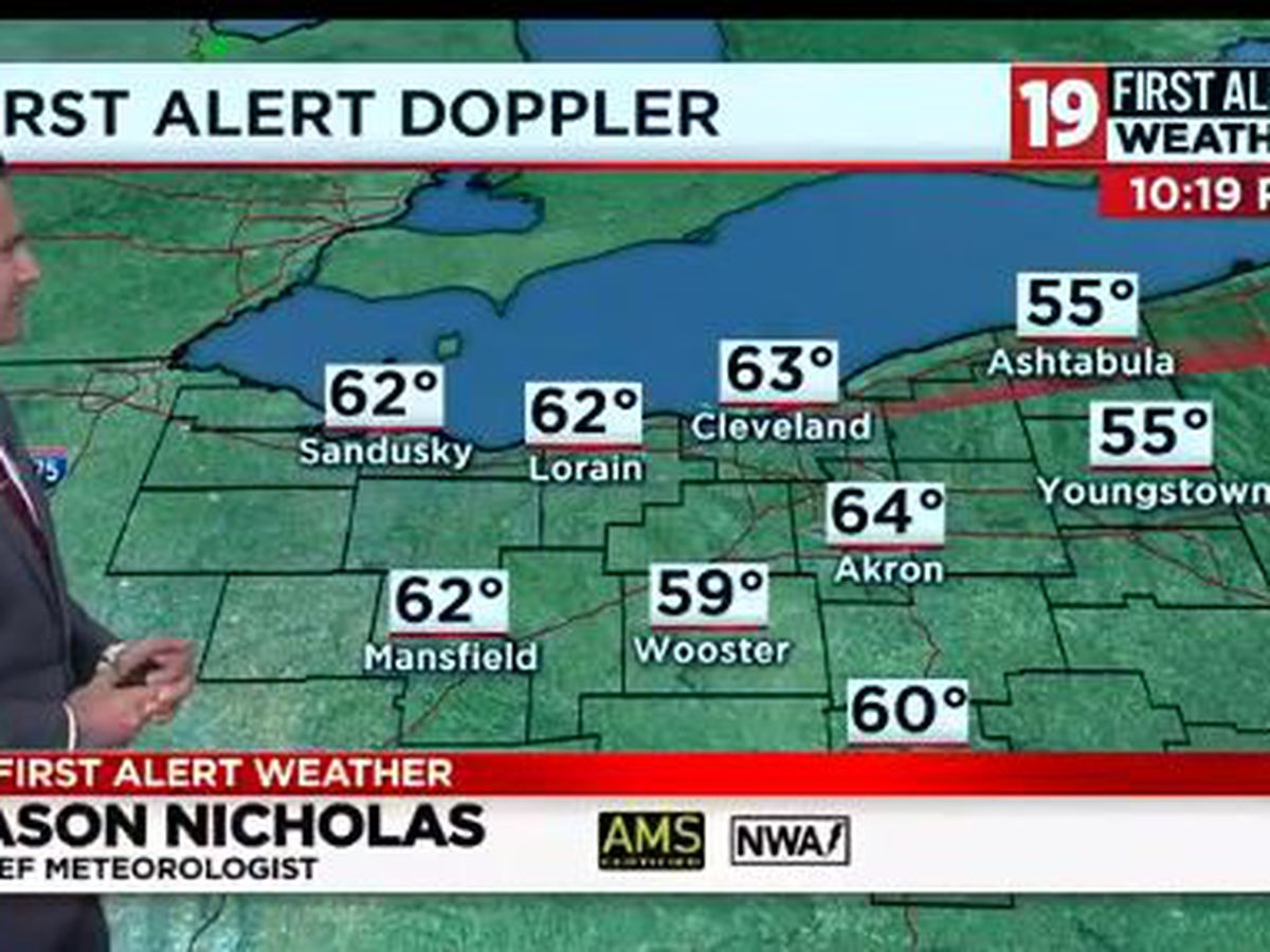 Northeast Ohio weather: No rain around here until Thursday